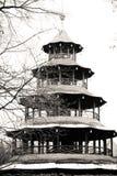 Chinesischer Turm, Monaco di Baviera Fotografia Stock
