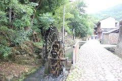 Chinesisches altes Dorf Stockfotografie