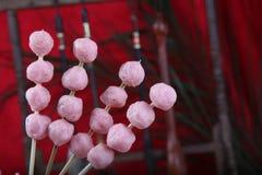 Chinesisches Aroma des Garnelenfleischballs Stockbild