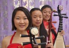 Chinesisches Band Stockfoto