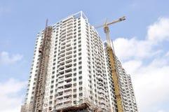 Chinesisches Bewohnergebäude lizenzfreies stockbild