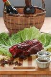 Chinesisches Bratenschweinefleisch Stockfoto
