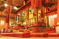Chinesisches Buddist Kloster Stockfotografie