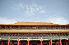 Chinesisches Buidling in Taiwan Lizenzfreie Stockfotos