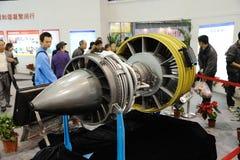 Chinesisches cj-1000a Turbofan-Triebwerk stockfotos