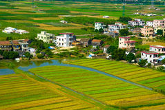 Chinesisches Dorf Lizenzfreie Stockfotografie