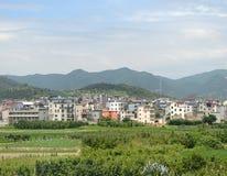 Chinesisches Dorf Stockfotos