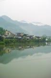 Chinesisches Dorf Lizenzfreie Stockfotos