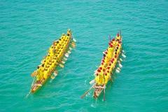 Chinesisches Dracheboot Stockbilder
