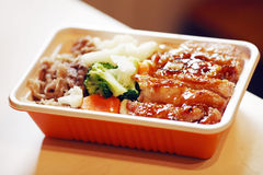 Chinesisches Fastfood Lizenzfreies Stockfoto