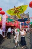 Chinesisches Festival in Dusseldorf, Deutschland Lizenzfreie Stockfotos