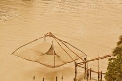Chinesisches Fischernetz Lizenzfreie Stockbilder