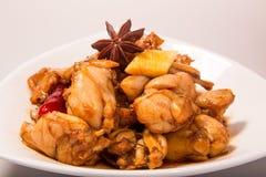 Chinesisches Fleisch - Salzlösungsochsenfrosch Stockbild