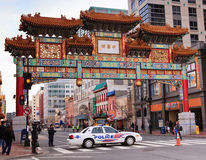 Chinesisches Freundschafts-Tor-Washington DC Chinatown Lizenzfreie Stockfotos