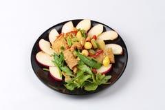 Chinesisches Gemüsefestivallebensmittel als gebratene Acajounuss und Ginkgo mit Mischgemüse u. x22; J-Lebensmittel festival& x22; Lizenzfreie Stockfotografie