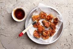 Chinesisches Generaltso-` s Huhn oder Nuggets Lizenzfreies Stockbild
