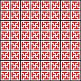 Chinesisches geometrisches Muster Lizenzfreies Stockfoto