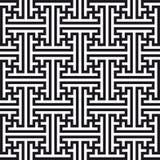 Chinesisches geometrisches Muster Stockfoto