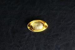 Chinesisches Gold lizenzfreie stockfotografie