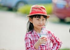 Chinesisches hübsches Mädchen Stockbilder