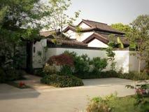 Chinesisches Haus Hangzhou Lizenzfreies Stockfoto