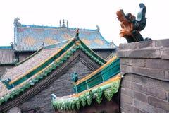 Chinesisches Hausdach lizenzfreie stockbilder