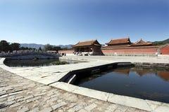 Chinesisches königliches Mausoleum. Stockbild