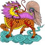 Chinesisches künstlerisches Muster Lizenzfreie Stockfotos