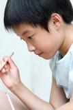 chinesisches Kindmalen Lizenzfreie Stockfotos