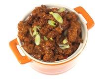 Chinesisches knusperiges Paprika-Rindfleisch Stockfotografie