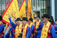 Chinesisches Kulturfestival Stadt, durchgeführt dubai lizenzfreie stockfotos