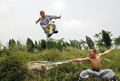 Chinesisches kung Fu Stockfoto