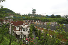 Chinesisches Landhaus Stockfotos