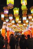 Chinesisches Laternefestival des neuen Jahres 2012 Lizenzfreie Stockbilder