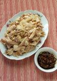 Chinesisches Lebensmittel, Dampfhuhn stockfoto