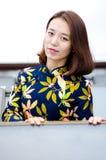 Chinesisches Mädchen Stockbild