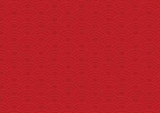 Chinesisches Muster Stockfoto