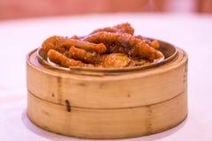Chinesisches Nahrungsmitteldim sum (Fung Jeow) Stockfoto