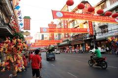 Chinesisches neues Jahr 2012 - Bangkok, Thailand Lizenzfreies Stockbild
