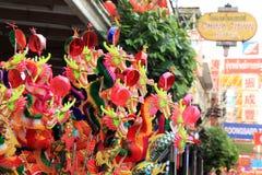 Chinesisches neues Jahr 2012 - Bangkok, Thailand Lizenzfreies Stockfoto