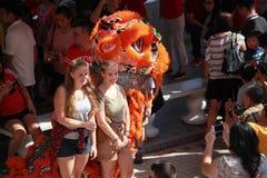 2017 chinesisches neues Jahr Lizenzfreies Stockfoto