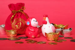 Chinesisches neues Jahr-Konzept Stockfotografie