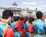 Chinesisches neues Jahr, London Stockfotografie