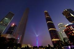 2016 chinesisches neues Jahr in Quadrat Guangzhous Huacheng Lizenzfreie Stockfotos