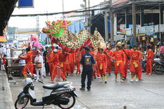 Chinesisches neues Jahr, Thailand. Stockfoto