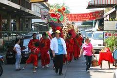 Chinesisches neues Jahr, Thailand. Stockfotografie