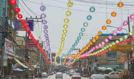 Chinesisches neues Jahr in Thailand Lizenzfreie Stockfotografie