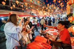 Chinesisches neues Jahr in Thailand Stockfotos