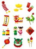 Chinesisches Neujahrsfest lizenzfreie abbildung