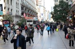 Chinesisches Neujahrsfest in Shanghai Lizenzfreies Stockfoto